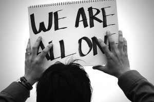 we're all one