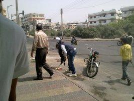 بانياس تنظيف الشوارع
